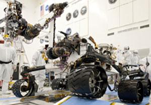 Vehículo nuclear buscará vida en Marte