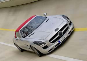 Mercedes-Benz SLS AMG Cabriolet, primeras imágenes