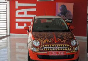 FIAT 500 se viste de arte tribal