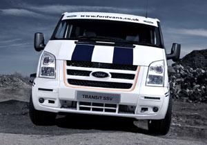 Ford Transit SSV se presenta en el Salón de Vehículos Comerciales