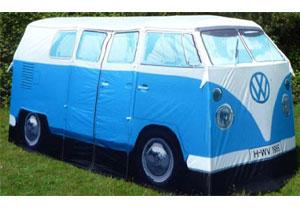 VW Camper Van 1965 de regreso... ¡En forma de carpa!