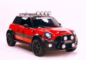 MINI Red Mudder, a subasta