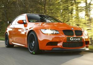 G-Power BMW M3 GTS genera más de 600 caballos