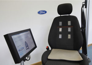 Ford desarrolla asiento que monitorea actividad cardíaca