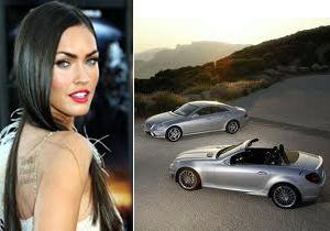 Los autos de Megan Fox