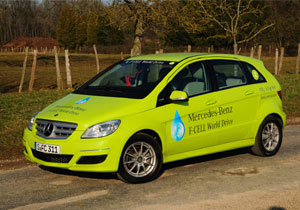 Culmina con éxito el Mercedes-Benz F-Cell World Drive