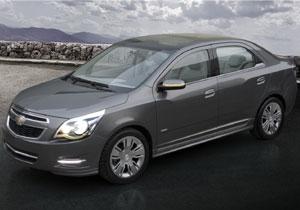 Chevrolet Cobalt Concept debuta en el Salón de Buenos Aires 2011