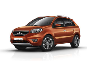 Renault Koleos 2012 primeras imágenes