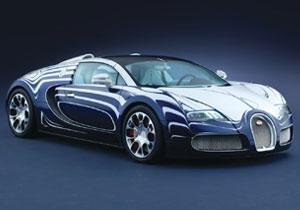Bugatti Grand Sport L'Or Blanc, porcelana y lujo sobre cuatro ruedas