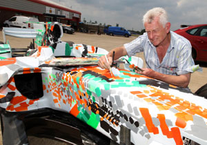 Force India y Dexter Brown hacen de un F1 una obra de arte