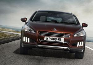 Peugeot 508 RXH debuta en el Salón de Frankfurt 2011