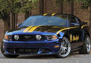 Ford Mustang Blue Angels, un homenaje a los 100 años de la aviación naval estadounidense