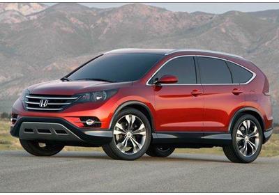 Honda CR-V 2012, primera imagen