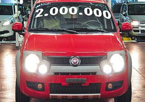 FIAT Panda segunda generación supera los 2 millones de vehículos producidos