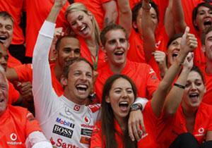 Jenson Button ganador del Gran Premio de Hungría 2011