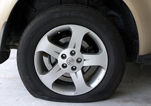 Goodyear desarrolla neumáticos que se inflan automáticamente