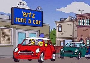 Los autos de los Simpsons (Parte 1)