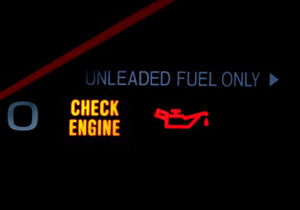 ¿Qué significa la luz de Check Engine en el tablero?