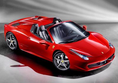 Ferrari 458 Spider: Primeras imágenes