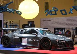 Simulador de carreras Audi R8 LMS de Sony PlayStation