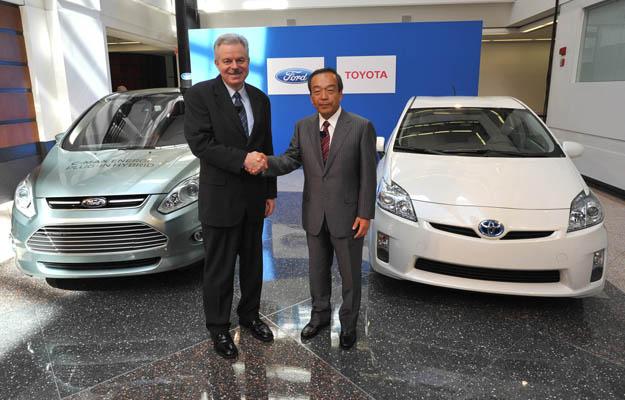 Ford y Toyota desarrollarán híbridos conjuntamente