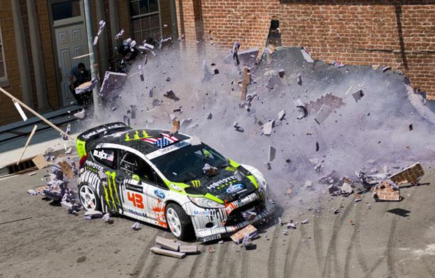 El Ford Fiesta WRC de Ken Block llega a Hollywood