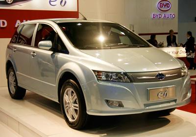 BYD inicia venta de auto 100% eléctrico