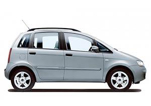 Más equipamiento para el Fiat Idea