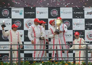 Barberis se quedó con la Fiat Linea Competizione
