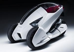 Honda 3R-C, concepto de tres ruedas debuta en Ginebra