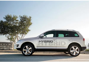 Presentará Volkswagen Touareg Híbrida en el Salón de Detroit 2010
