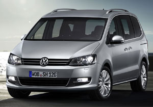 Volkswagen Sharan en el Salón de Ginebra