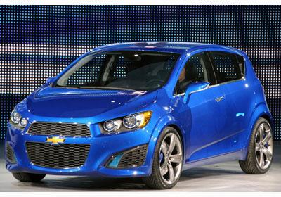 Chevrolet Aveo RS Concept: Señores, el Aveo 2011.