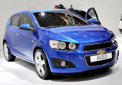 Chevrolet Aveo 2011: Debutó en París
