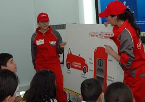 Concluyó la primer caravana 2010 por la educación vial, de Mapfre