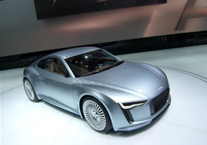Audi E-Tron Detroit Show Car Concept debuta en el Salón de Detroit 2010