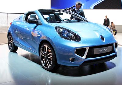 Renault Wind 2011: Nuevo Coupé-Cabriolet compacto
