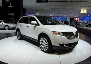 Se presenta el Lincoln MKX 2011 en el Salón de Detroit 2010