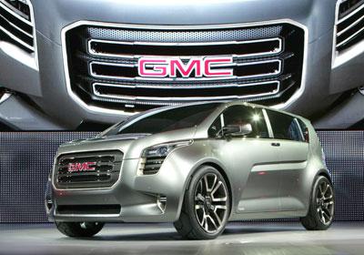 GMC Granite Concept: Imponente SUV Juvenil