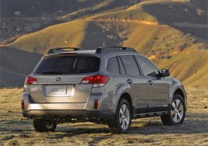 Subaru llama a revisión Outback y Legacy 2010