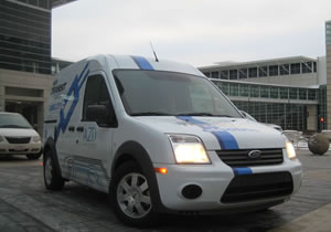 Ford Transit Connect Electric, primer contacto