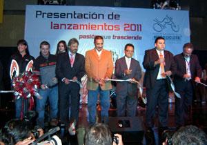 Se inaugura el Salón de Internacional de la Motocicleta 2010