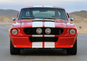 Shelby Mustang GT500CR por Classic Recreations