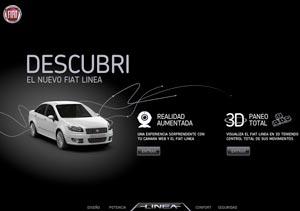 Fiat lanza una innovadora acción digital para el Linea