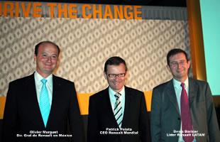 CEO de Renault visita México y anuncia fabricación de coche para Aguascalientes