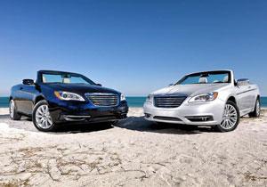 Chrysler 200 Convertible 2011 primeras imágenes