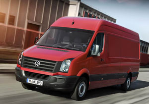 Volkswagen Crafter, la Van para carga de VW