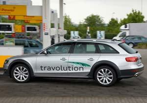 """Audi """"travolution"""": interacción entre semàforos y autos"""