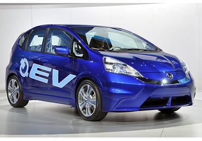 Honda presentó la versión eléctrica de su modelo Fit