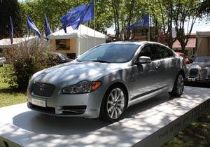 El Jaguar XF llegó a la Argentina